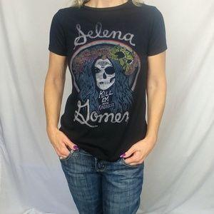 Selena Gomez XSmall Kill Em Soft Black Sugar Skull